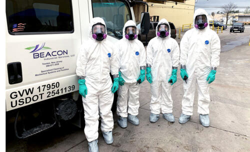 Ready to disinfect food manufacturing facility